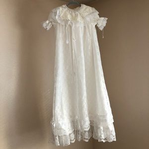 Vintage Style Handmade Christening Gown STH 34""